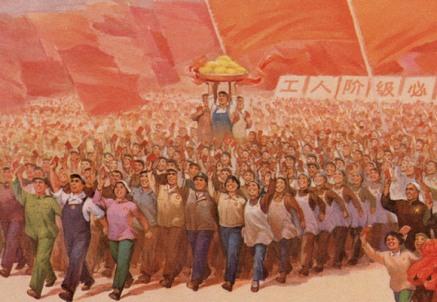Εικόνα θεοποιημένου Λαού επί ηγεμονίας θεοποιημένου δικτάτορα